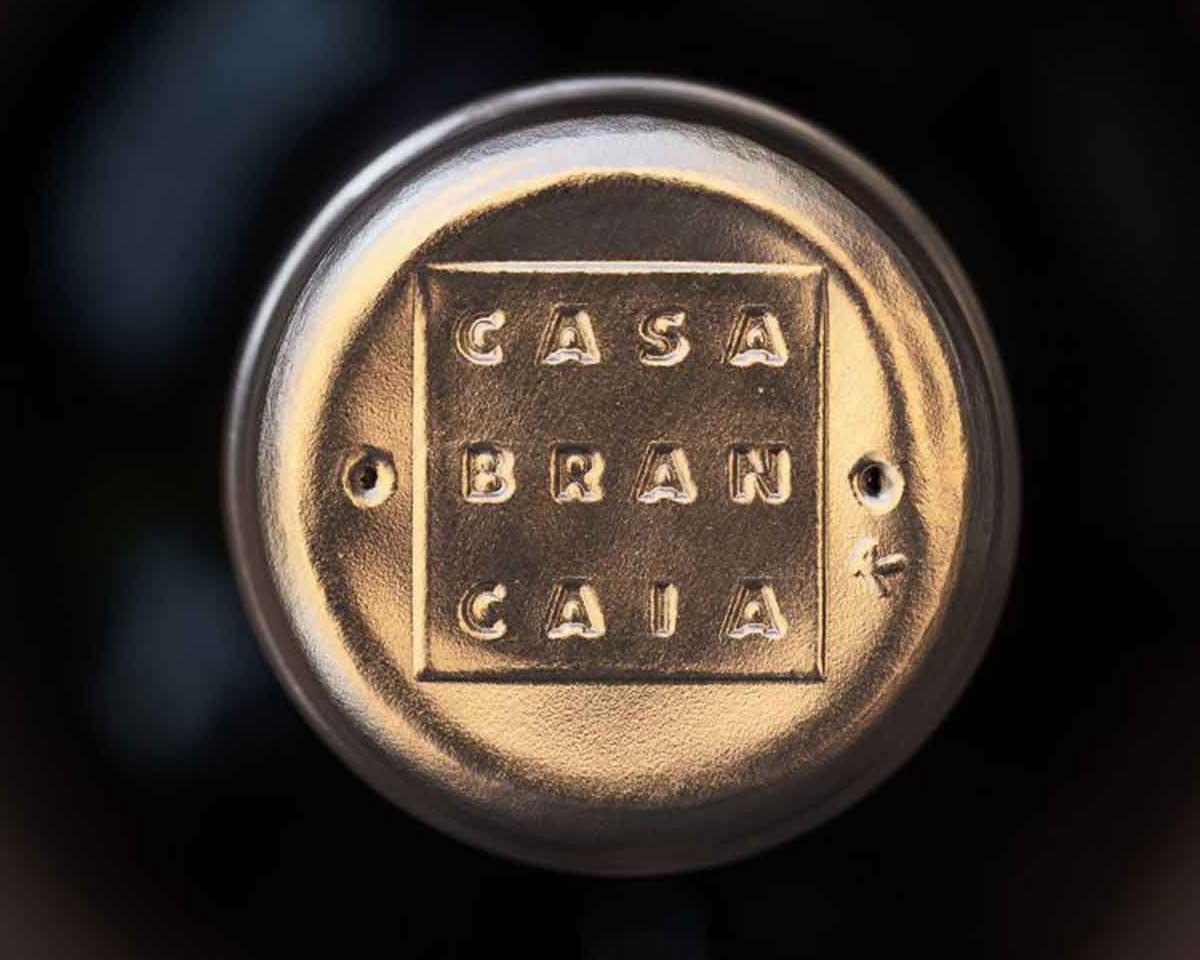 Capsula per bottiglia di vino Brancaia